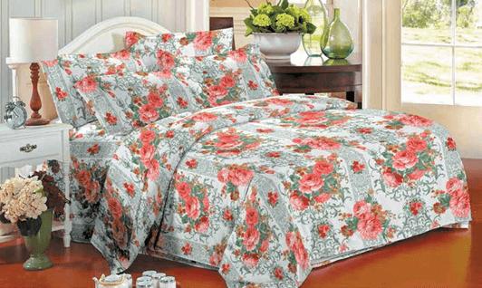 תמונה של סט ביוטי 100% כותנה מיטה זוגית 4 חלקים  | 2078