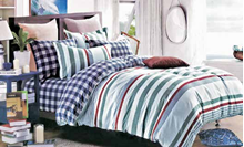 תמונה של סט ביוטי 100% כותנה מיטה וחצי 3 חלקים  | 2061