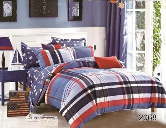 תמונה של סט ביוטי 100% כותנה מיטה זוגית 4 חלקים  | 2068