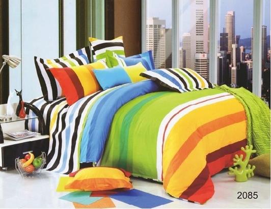 תמונה של סט ביוטי 100% כותנה מיטה וחצי 3 חלקים  | 2085
