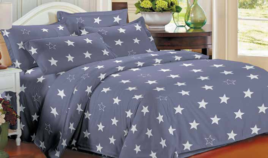 תמונה של סט ביוטי 100% כותנה מיטה זוגית 4 חלקים רחב  | 2090
