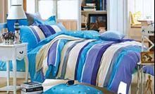 תמונה של סט ביוטי 100% כותנה מיטה זוגית 4 חלקים  | 2074