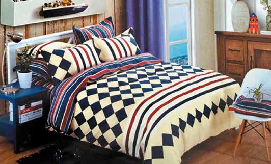 תמונה של סט ביוטי 100% כותנה מיטה זוגית 4 חלקים רחב | 2075