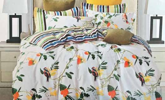 תמונה של סט ביוטי 100% כותנה מיטה זוגית 4 חלקים רחב  | 2087