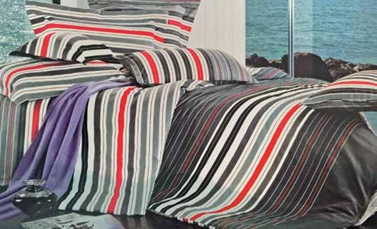 תמונה של סט ביוטי 100% כותנה מיטה זוגית 4 חלקים רחב  | 2089