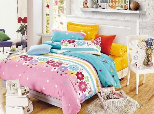 תמונה של סט ביוטי 100% כותנה מיטה זוגית 4 חלקים  | C-3000