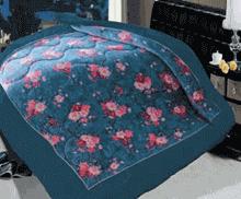 תמונה של שמיכת פינוק פלנל מיטה זוגית מודפסות ממולאות FLANNEL RC16005