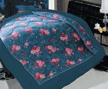 תמונה של שמיכת פינוק פלנל מיטת יחיד מודפסות ממולאות FLANNEL RC16005