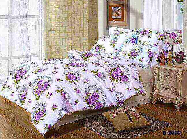 """תמונה של מצעי כותנה """"אוריאן"""" - 197 חוט לאינץ!! מיטה וחצי 3 חלקים   B-2006"""