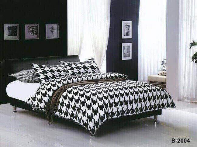 """תמונה של מצעי כותנה """"אוריאן"""" - 197 חוט לאינץ!! מיטה זוגית 4 חלקים   B-2004"""
