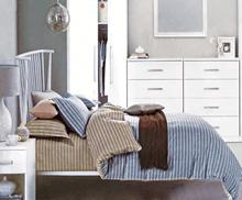 """תמונה של  מצעי כותנה """"אוריאן"""" - 197 חוט לאינץ!! מיטת זוגית רחב 4 חלקים   B-2010"""