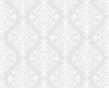 תמונה של וילון אמבטיה לבן ז'קרד 120x180