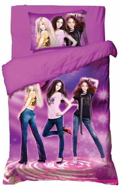 תמונה של סט ריאקטיב ילדים ונוער אל קמט 5D מיטת יחיד 3 חלקים     נערות
