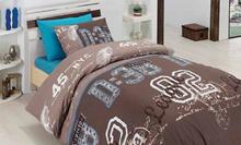 תמונה של סט מצעים למיטה וחצי 3 חלקים סט מצעי נוער 100% פרקל צפיפות 180 חוט לאינטש
