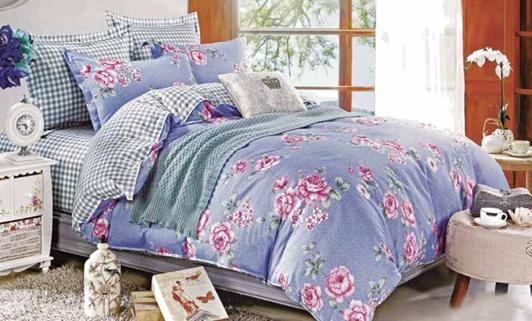 תמונה של סט ביוטי 100% כותנה מיטה זוגית 4 חלקים  | 2070