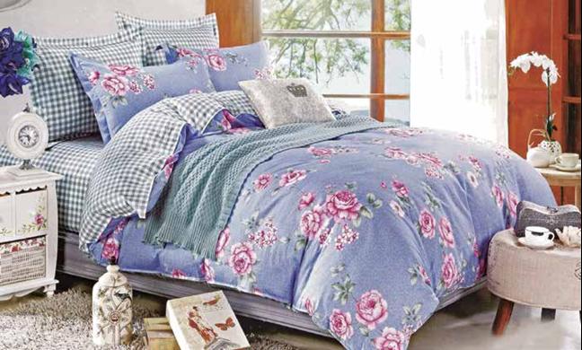 תמונה של סט ביוטי 100% כותנה מיטה זוגית 4 חלקים רחב | 2070