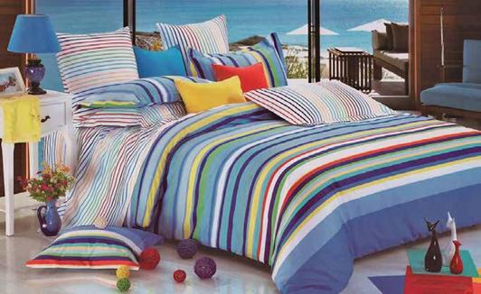תמונה של סט ביוטי 100% כותנה מיטה זוגית 4 חלקים רחב | 2072