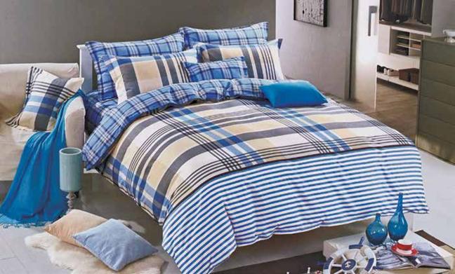 תמונה של סט ביוטי 100% כותנה מיטה זוגית 4 חלקים  | 2071