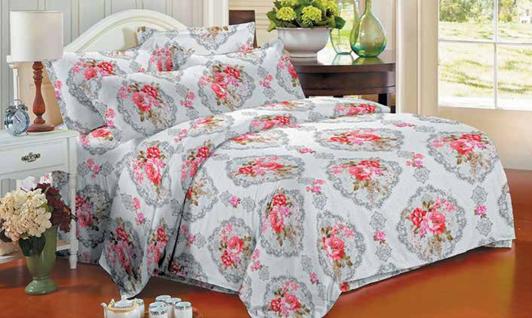 תמונה של סט ביוטי 100% כותנה מיטה זוגית 4 חלקים רחב  | 2077