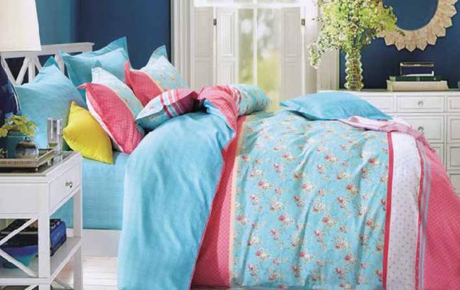תמונה של סט ביוטי 100% כותנה מיטה זוגית 4 חלקים  | 2084