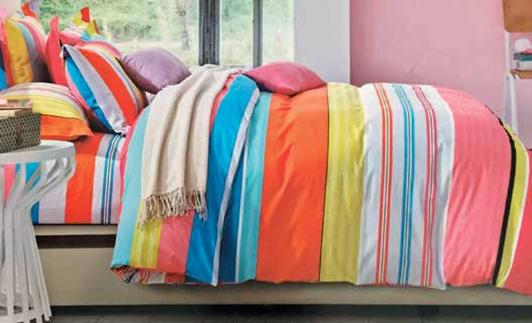 תמונה של סט ביוטי 100% כותנה מיטה זוגית 4 חלקים רחב  | 2088